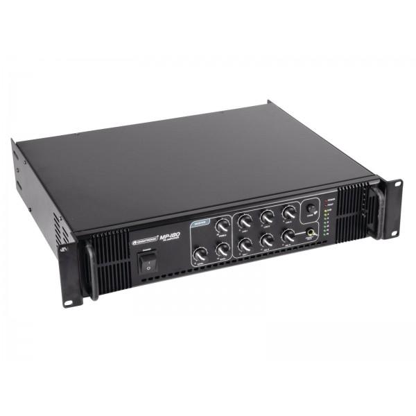 Трансляционный микшер-усилитель мощности OMNITRONIC MP-180 PA